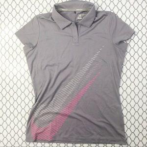 ❤️ Nike Dri-Fit Golf Shirt (M)